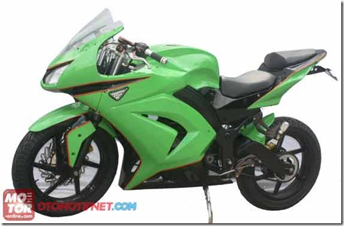 modifikasi astrea star jadi ninja 250r