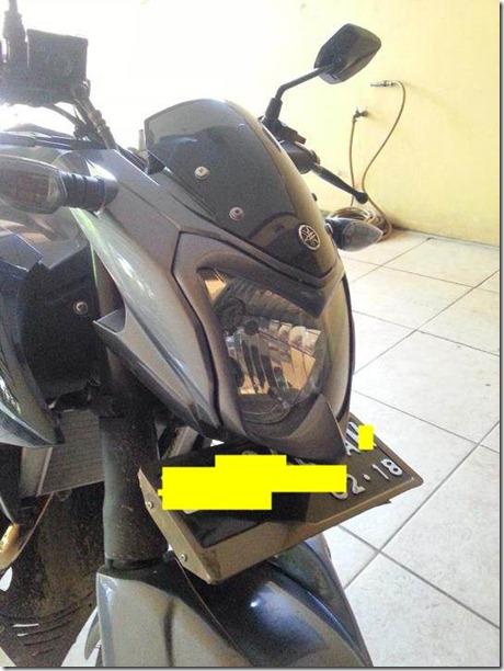 modifikasi headlamp yamaha new vixion