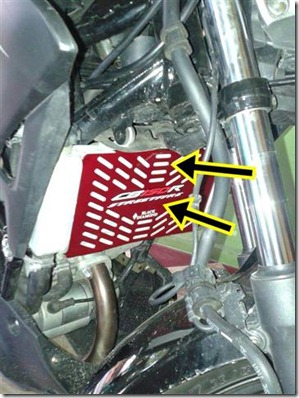 cover radiator honda CB150R 1 (Small)
