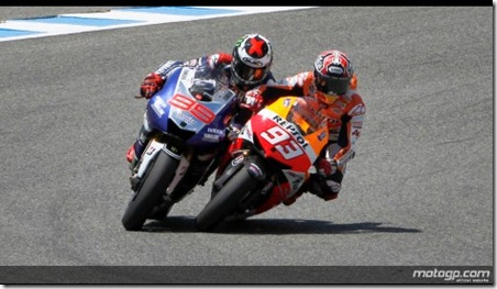 fight lorenzo vs marquez