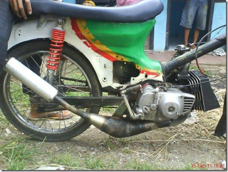 honda c70 head rx king
