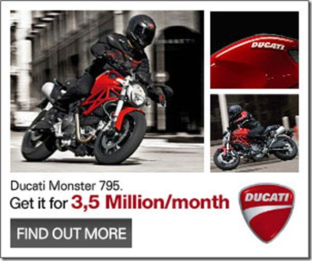 kredit ducati monster