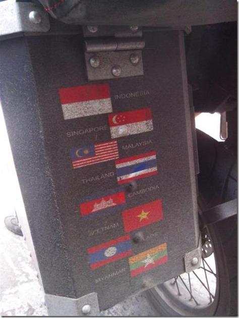 mario iroth melewati 7 negara