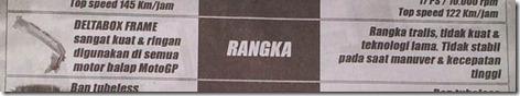 rangka yamaha new vixion vs honda CB150R