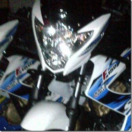 headlamp suzuki new satria fu 2013