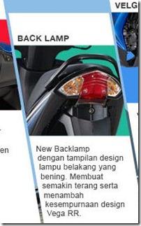 new feature on yamaha vega RR stoplamp