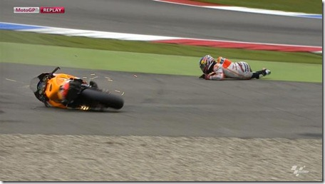 pedrosa crash in assen