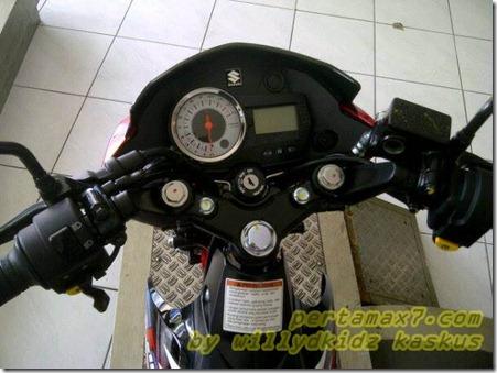 speedometer suzuki satria fu 2013