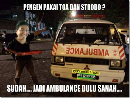 strobo ambulance
