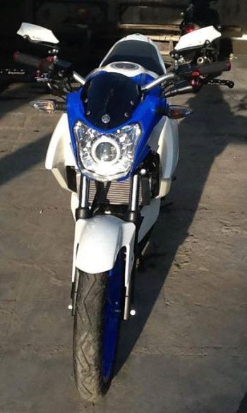 Modifikasi Yamaha New Vixion Lightning Half Fairing Ala Kawasaki Z250