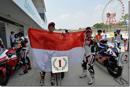 astra honda racing team suzuka 2013