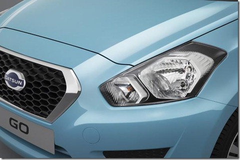 datsun go headlamp detail