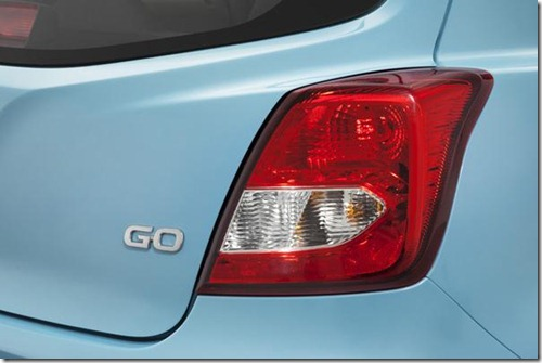 datsun go taillight detail