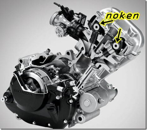 honda CB150R dohc engine