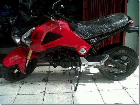honda msx 125 indonesia