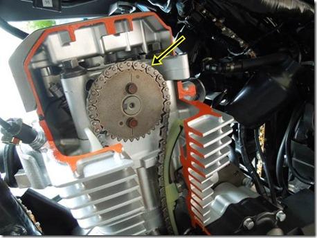 honda verza 150 engine