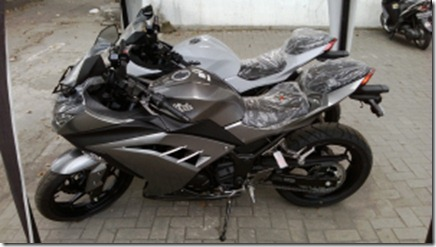 kawasaki ninja 250 fi new colour