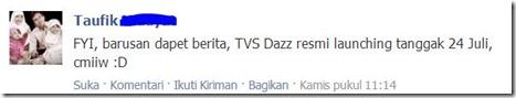 launching tvs dazz tmcblog