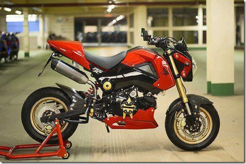 modifikasi honda grom