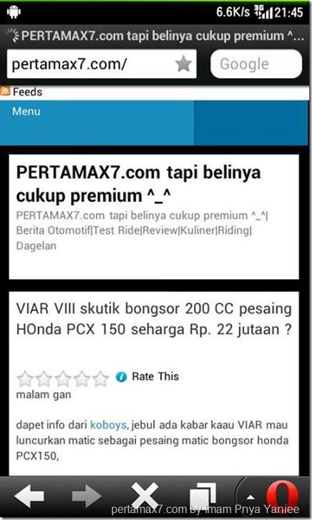 pertamax7.com on mobile