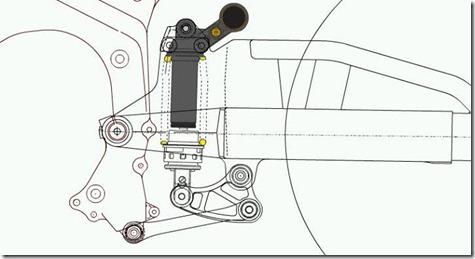 prolink sistem honda Cb150R