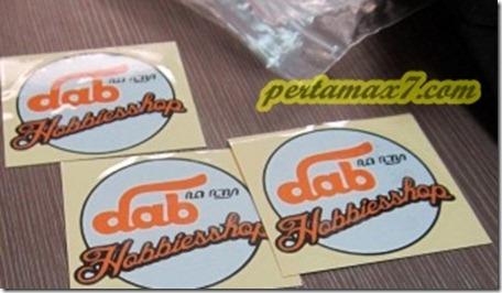sticker dab hobbiesshop