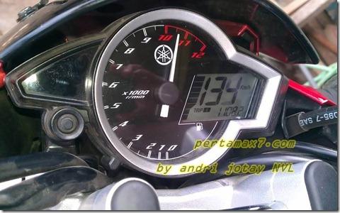 top speed yamaha new vixion standart tengah andri
