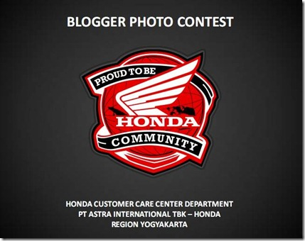 Blogger Photo Contest