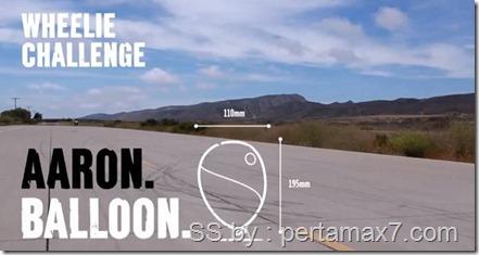 ducati wheelie challenge ballon 2