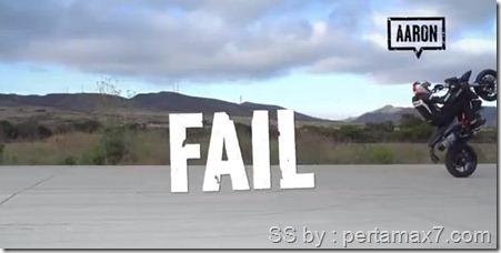 ducati wheelie challenge paintball fail