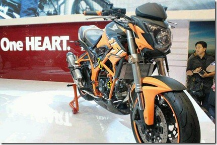 honda cb150r modip orange