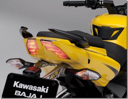 kawasaki bajaj pulsar 200ns tail light