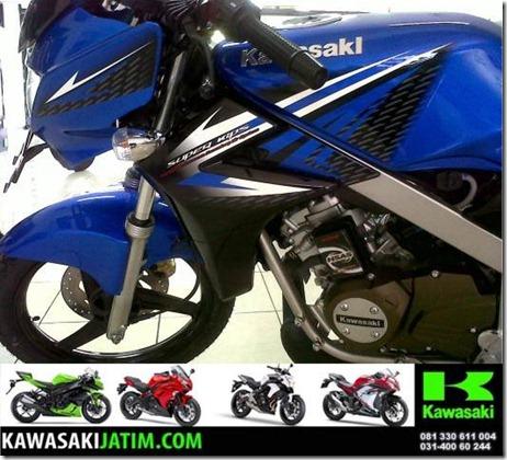 kawasaki ninja 150 R blue dongker (Small)