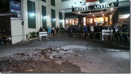ledakan mangga besar hotel astika