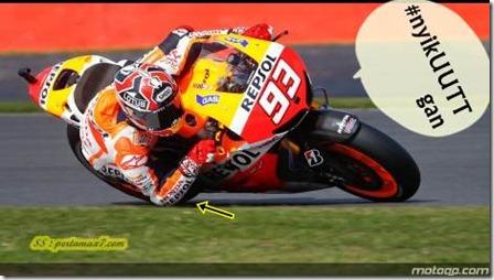 Marquez elbow style