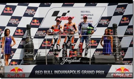 marquez podium