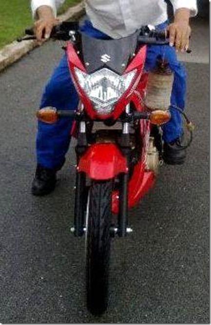 suzuki raider 150 2013 vietnam front view