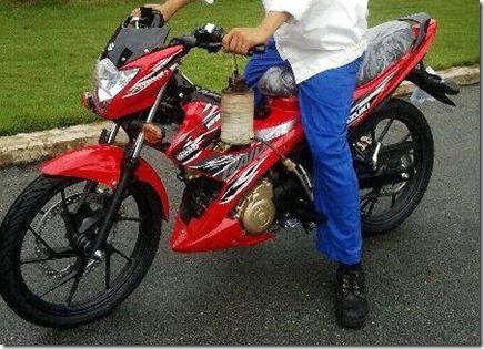 suzuki raider 150 2013 vietnam side