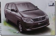 Toyota Kijang INNOVA 2014 tipe J