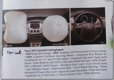 Toyota Innova G 2014 | Car Interior Design