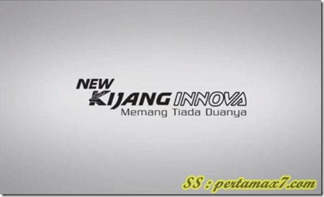 Toyota new  Kijang Innova memang tiada duanya