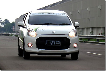 daihatsu ayla test drive