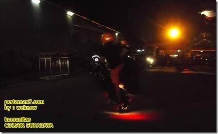 freestyle honda CB150R 3