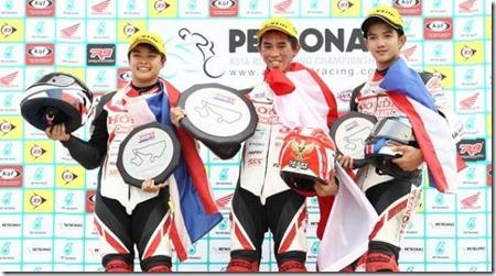 gerry salim asia dream cup podium