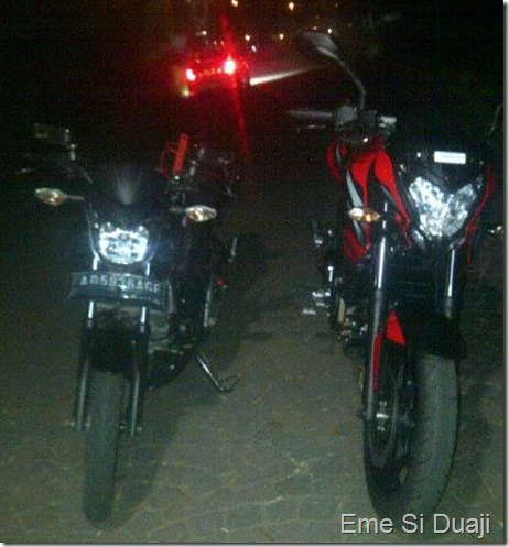 honda CB150R vs P200NS
