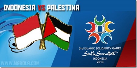INDONESIA vs PALESTINA Islamic Solidarity Games 2013 (Small)