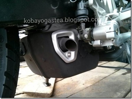 knalpot kolong Kawasaki Bajaj Pulsar 200ns (Small)