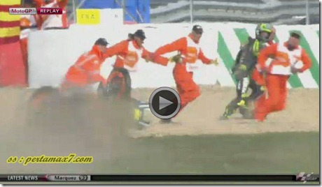 marquez crash hit crutlow 5
