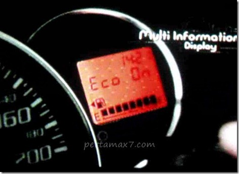 multi information display toyota agya