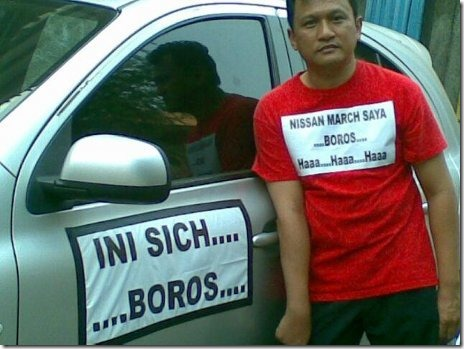 nissan march boros